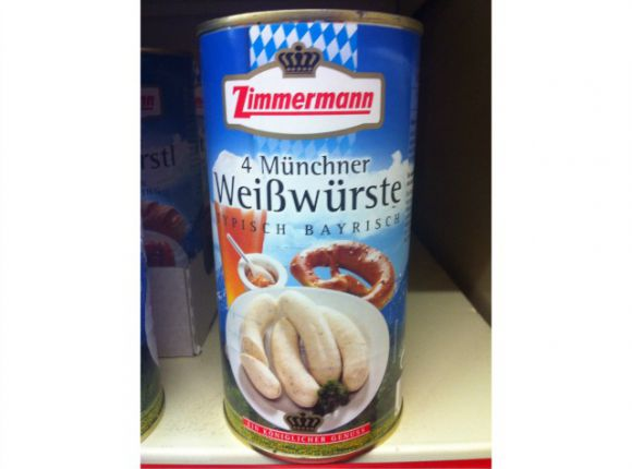 Weisswursts in a Jar to Take Home
