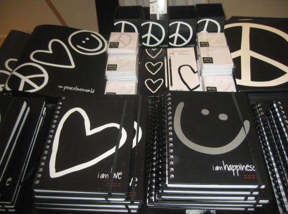 Peace. Love. World Merchandise