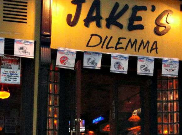 Jakes Dilemma Is The Kind Of Place You May Pass On Your Way To A Cooler Looking Locale But Dont Be Fooled Inside Bartenders Are Friendly