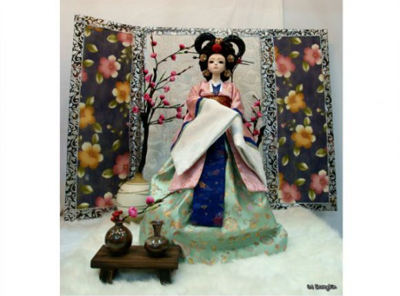 Korean Hanbok Dolls/Teddies
