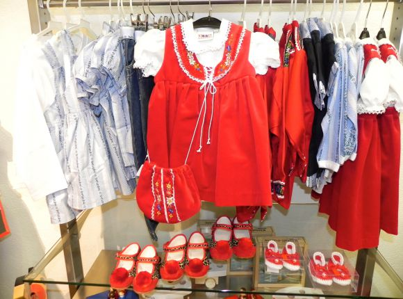 Traditional Swiss-Wear for Girls