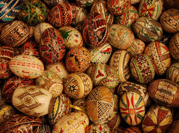 16 romanian goods to bring home from bucharest hand painted easter eggs negle Choice Image