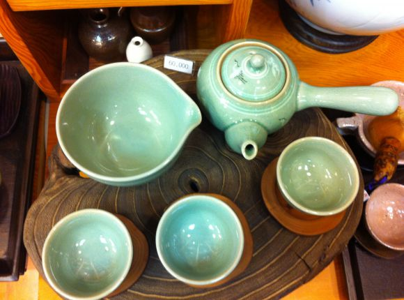 Korean Celadon Chinaware