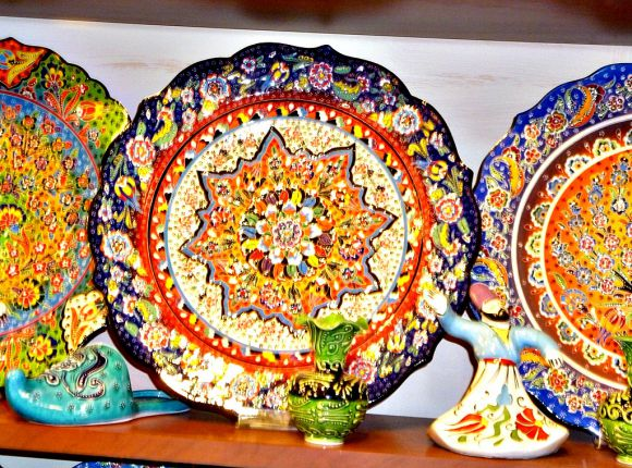 Hand Painted Ceramic Plates & Istanbul Shopping Guide: 16 Turkish Items To Bring Home