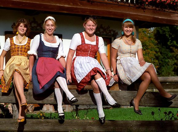 Austrian Dirndl Dress