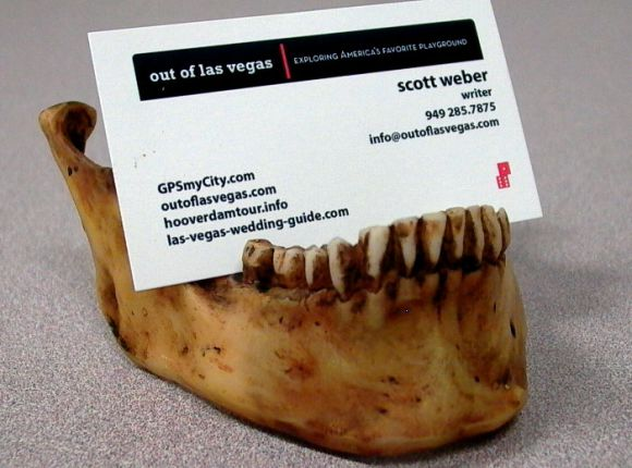"""The Jaw"" Business Card Holder"