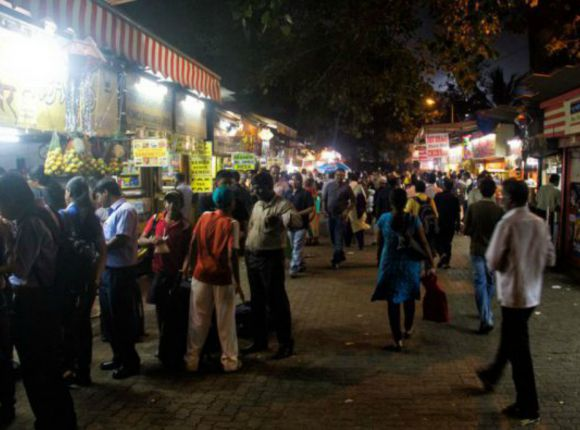 Food Street near Cross Maidan