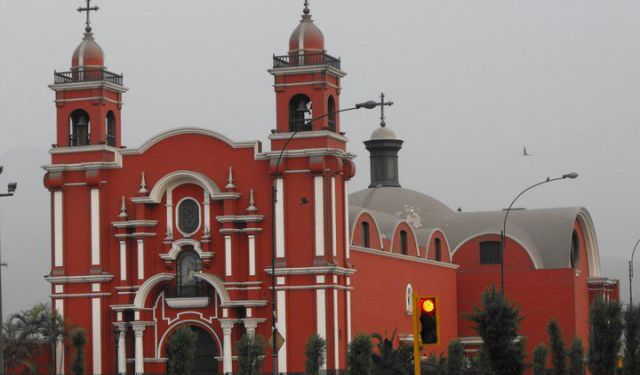 Churches of Central Lima