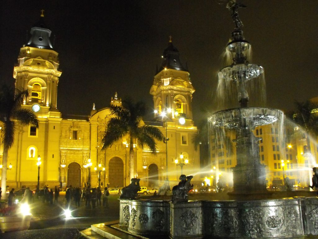 Landmarks Of Central Lima Lima