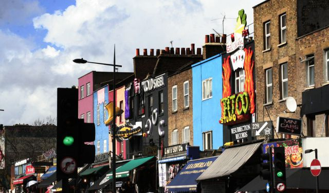 Camden Town Markets, London