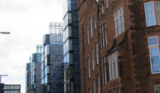 Old and New - Quartermile Walking Tour, Edinburgh