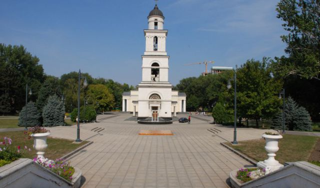 City Center Walk, Chisinau