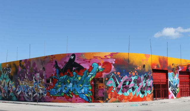 Wynwood Art District Walk