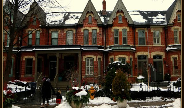 Cabbagetown Architecture Viewing Walk, Toronto