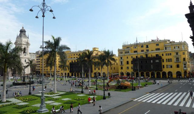 Historic Centre Walk, Lima