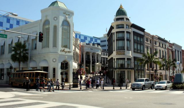 Beverly Hills Shopping, Los Angeles