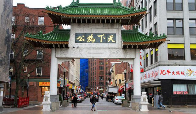 Chinatown and Leather District Walk, Boston