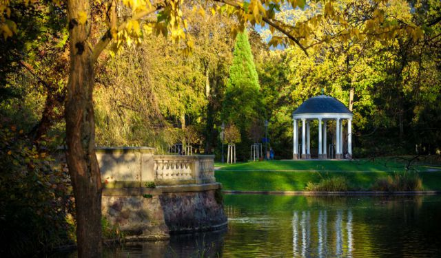 Orangerie Park Walking Tour, Strasbourg