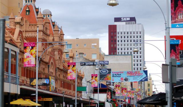 Hindley Street Shopping and Dining, Adelaide