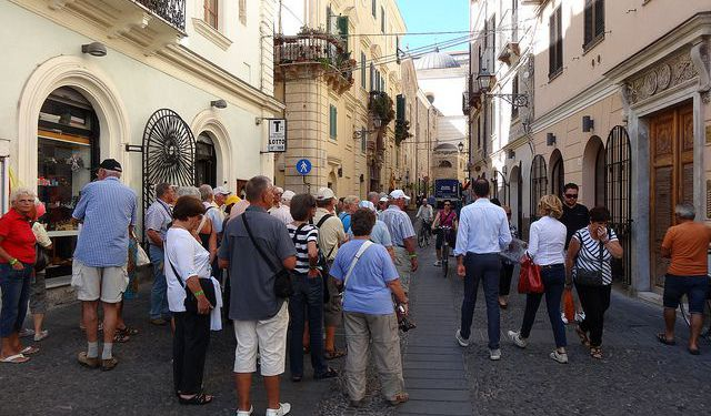 Old Town Shopping & Dining Walk, Alghero