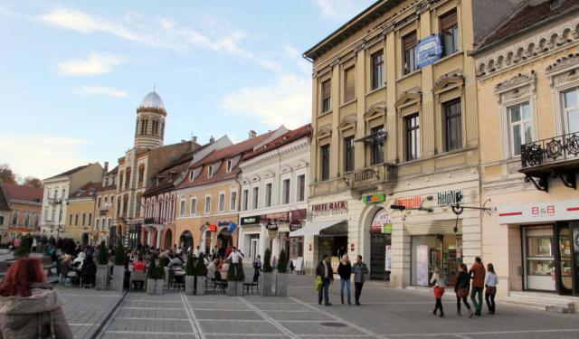 Old Town Shopping Walk, Brasov