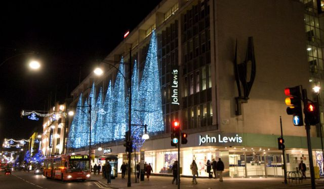 Oxford Street Area Shopping
