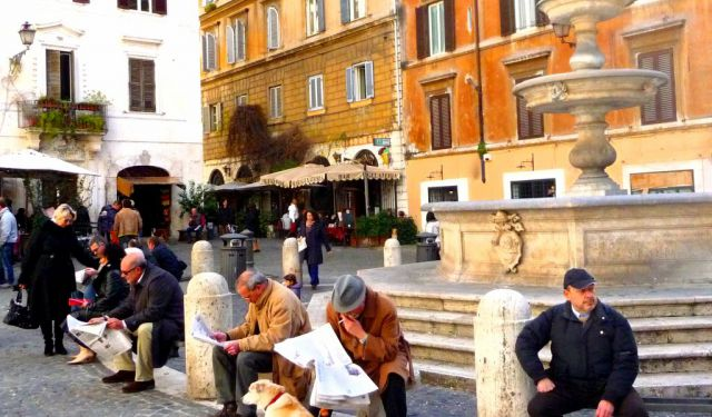 Monti Walking Tour, Rome