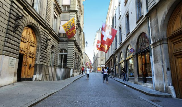 Old Town Walk (Self Guided), Geneva, Switzerland