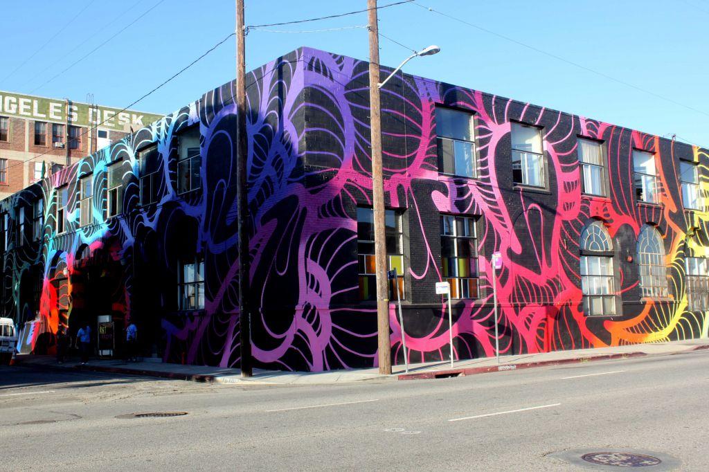 Melrose Wall Art Walking Tour