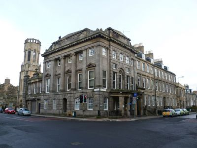 Constitution Street, Leith Police Station