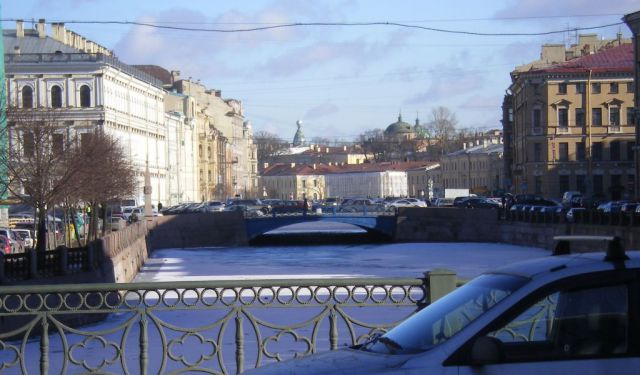 The Neva River and Griboedov Canal Walking Tour, St. Petersburg