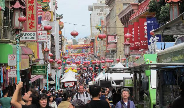 Chinese Heritage Walking Tour in San Francisco