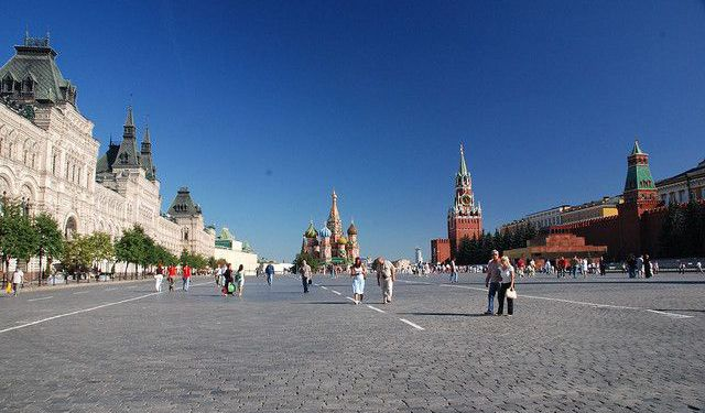 A Walking Tour in Kitai-Gorod, Moscow, Moscow