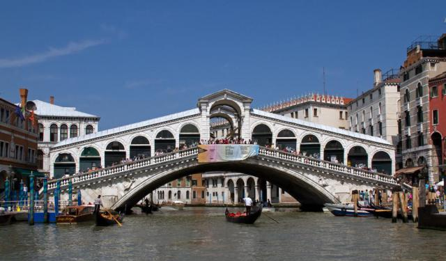 Around Rialto Bridge 1, Venice