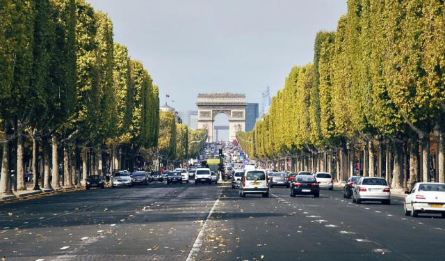 Champs-Elysees Walking Tour, Paris