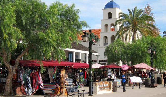 Old Town Walking Tour Self Guided San Diego California
