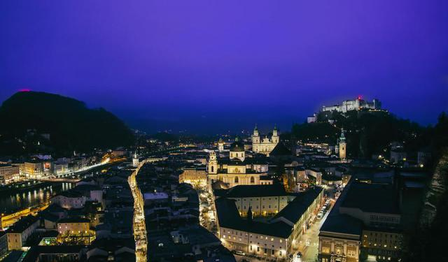 Old Town Nightlife, Salzburg