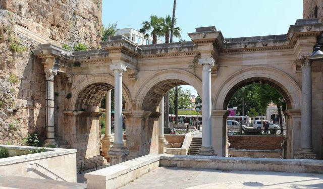 historic sites in antalya