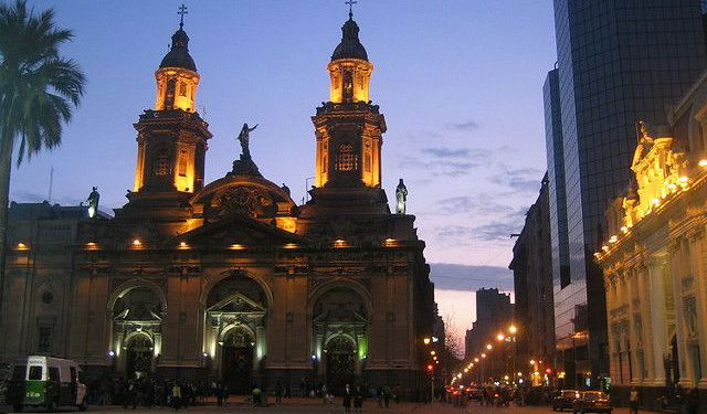 Santiago's Historical Churches and Cathedrals, Santiago