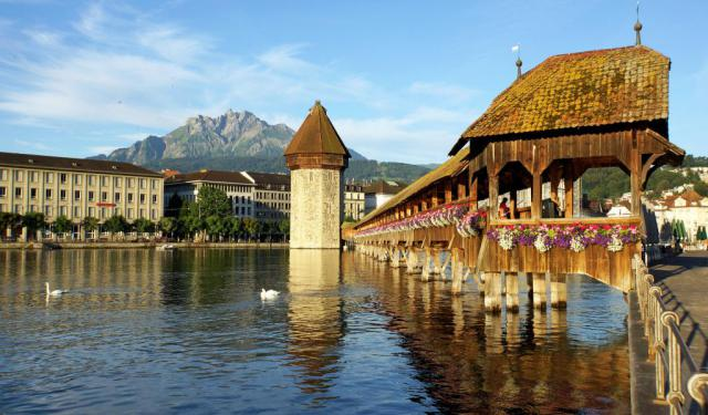 Lucerne Introduction Walk, Lucerne