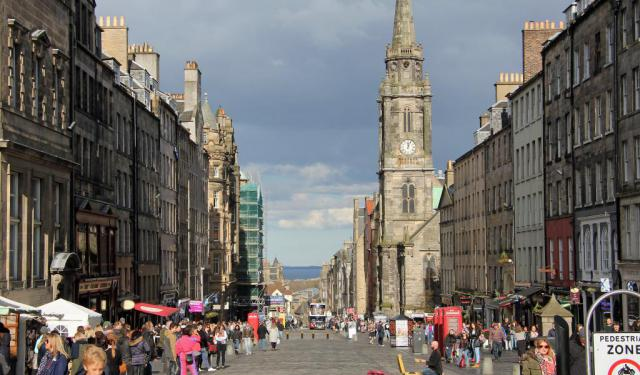Royal Mile Walking Tour, Edinburgh