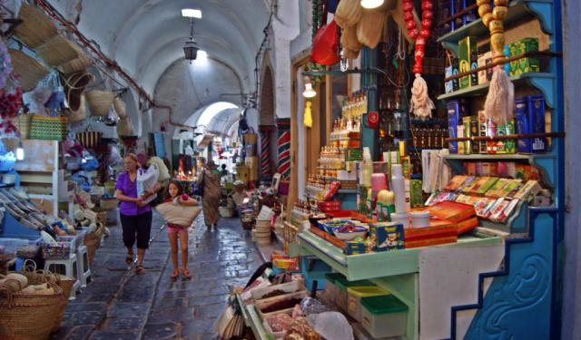 Tunis Shopping Spots Tour
