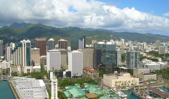 Business District Self-Guided Tour in Honolulu