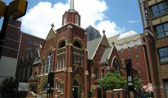 Religious Sites Walking Tour, Dallas