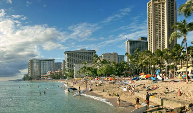 Waikiki Beach Walk in Honolulu