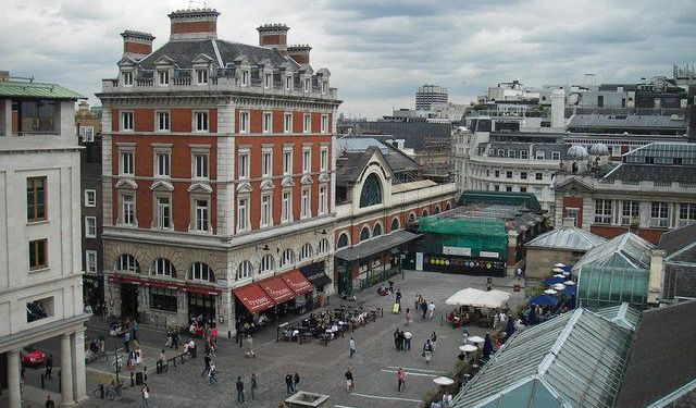 Covent Garden Walk, London
