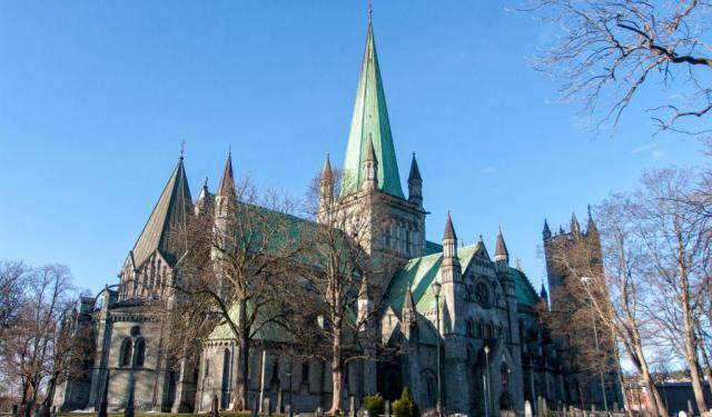 Trondheim's Old Town Walking Tour (Self Guided), Trondheim, Norway