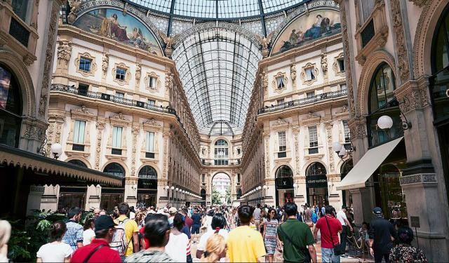 Shopping Streets and Spots, Milan