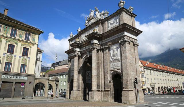 Famous Architecture of Innsbruck