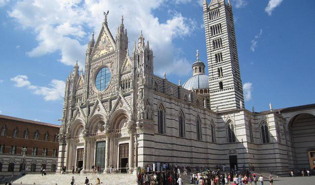 Top Religious Buildings, Siena